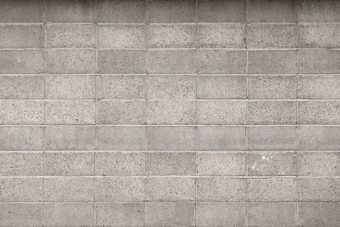ブロック塀の背景素材