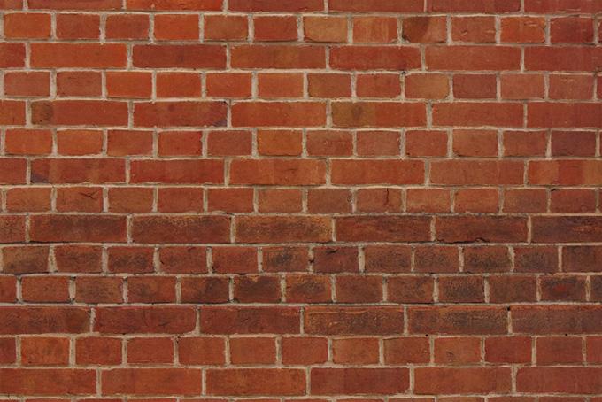 レンガ素材の壁の背景