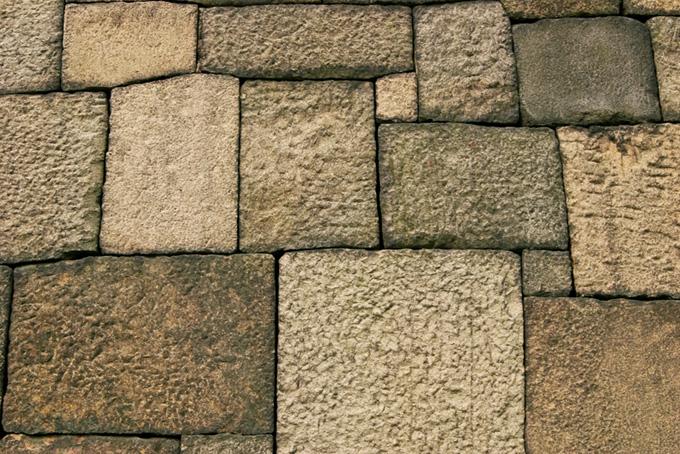 城壁の壁(石壁 テクスチャの画像)