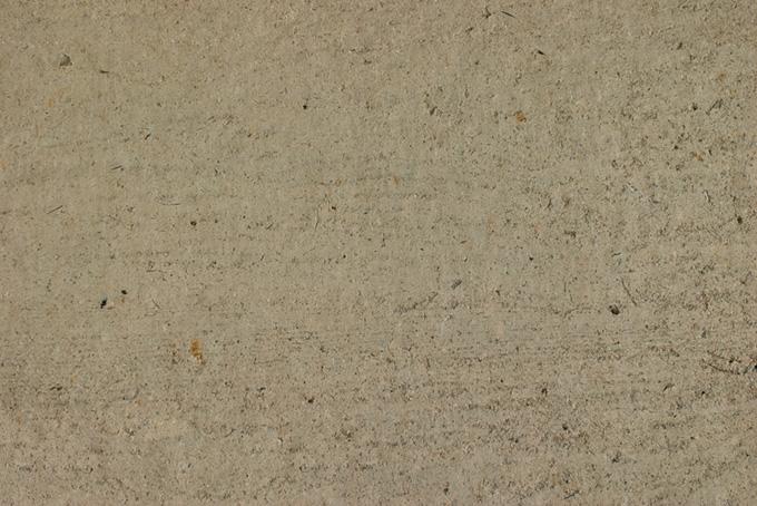 土と砂利の壁