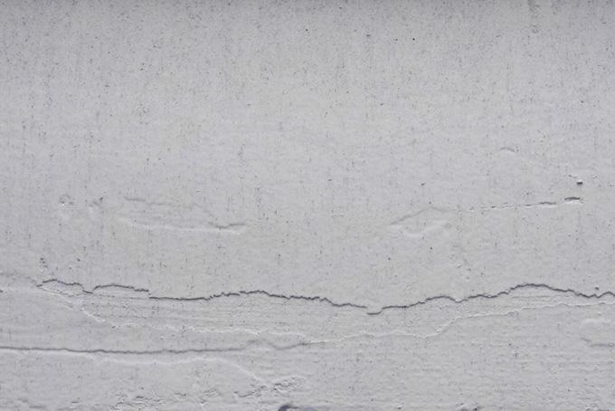 漆喰を塗ったコンクリート