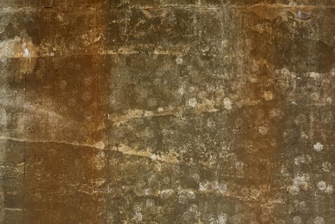 汚れたコンクリート壁のテクスチャ