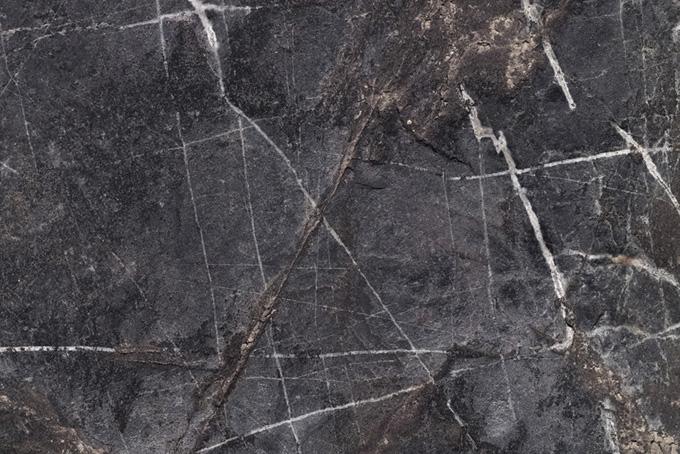 白い線が入った岩のテクスチャ