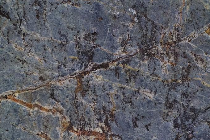 ひび割れた岩の質感のテクスチャ