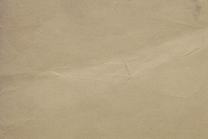 折目の跡がある古紙