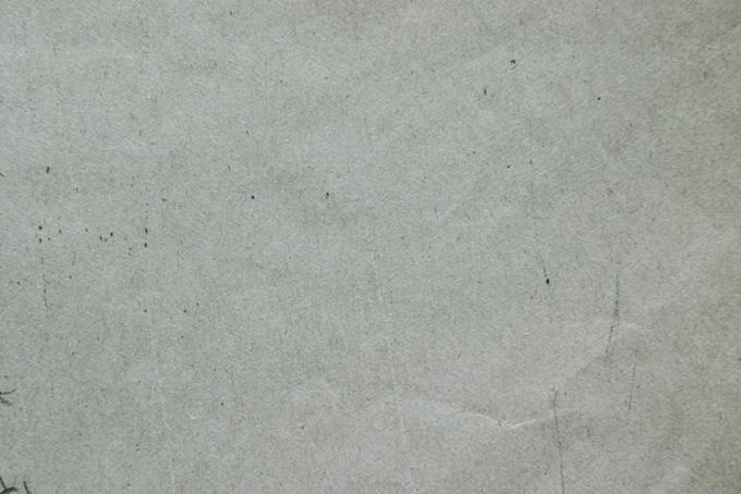 ザラザラとした灰色の紙