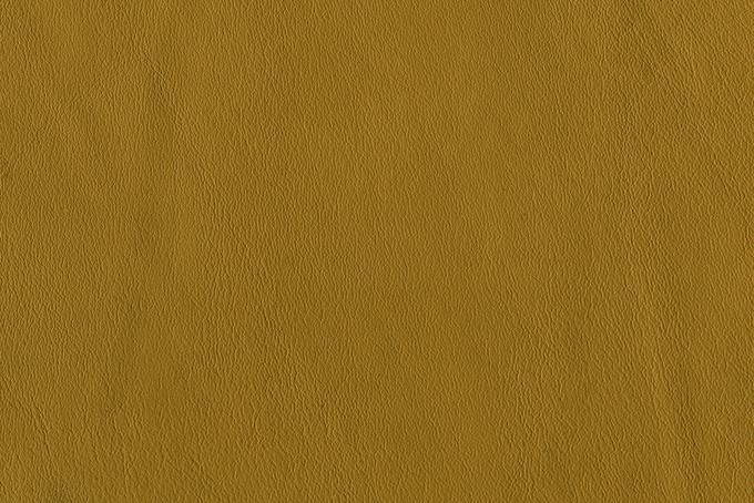 黄褐色のレザーの素材