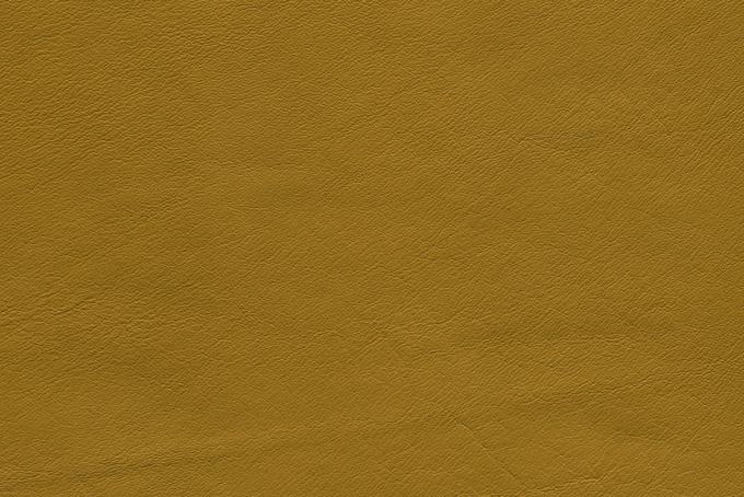 黄土色のレザーの素材