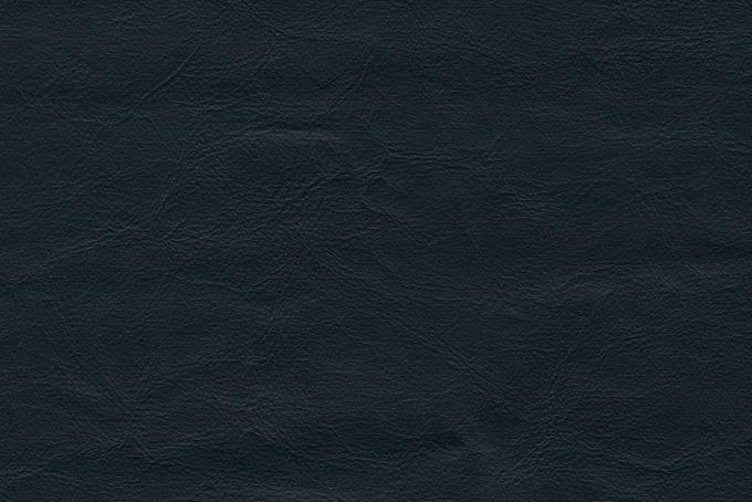青黒い皮革素材のテクスチャ