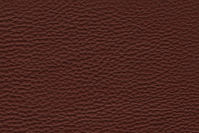 赤茶色の革の粗めの質感