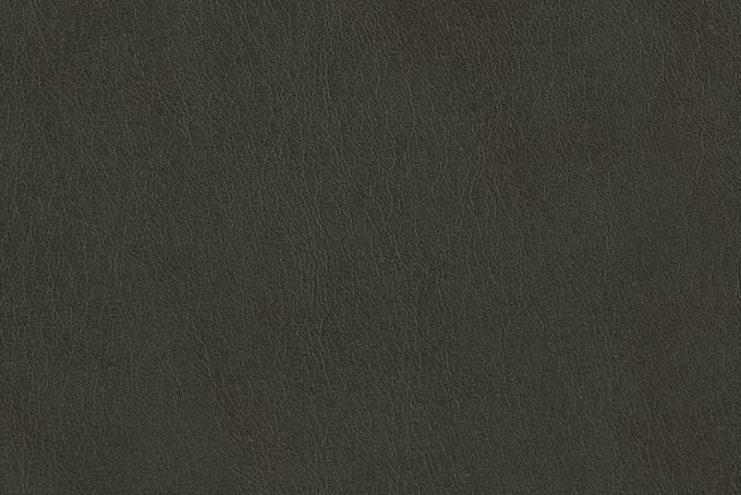 ダークグレーの牛革素材