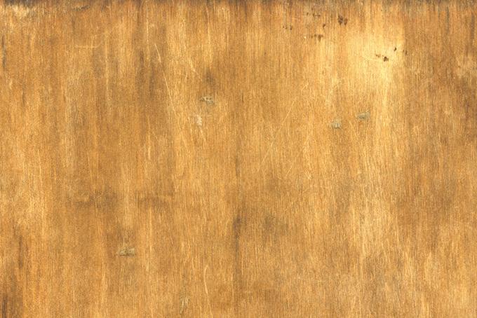 汚れや傷のある古い木板のテクスチャの背景