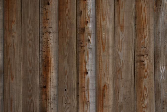 木目と節の調和が美しい板のテクスチャの背景