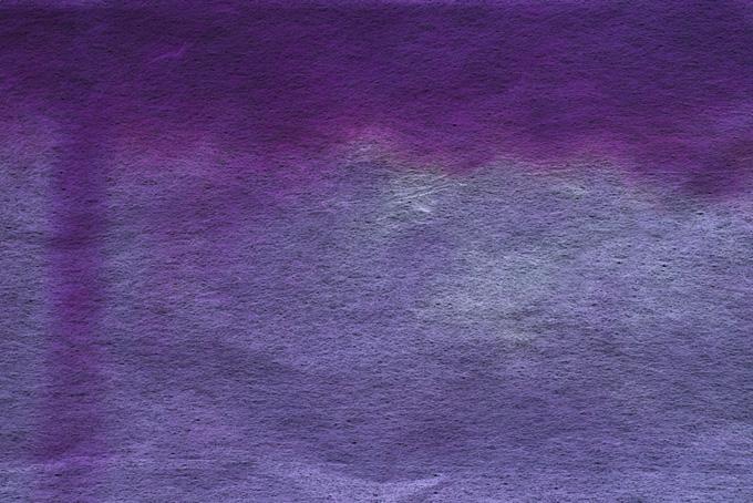 紫色の滲みのある和紙