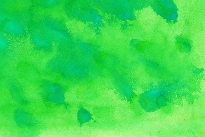 黄緑色の水彩テクスチャ素材