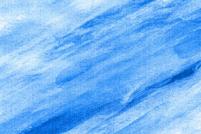 青色の水彩ライン