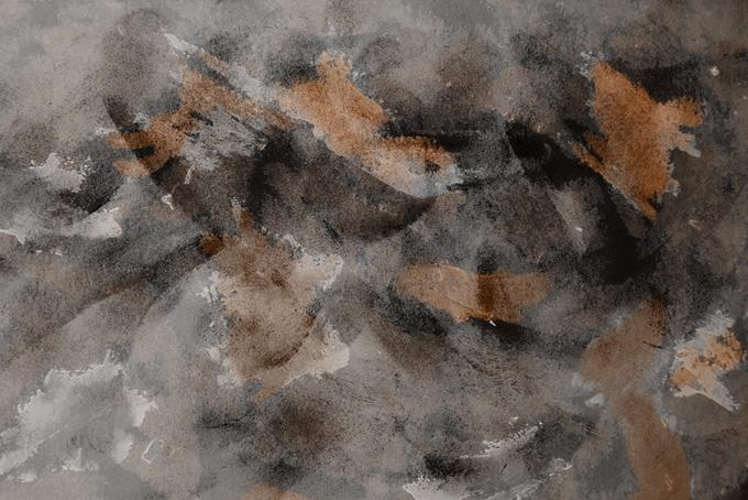 黒と茶色の水彩テクスチャ