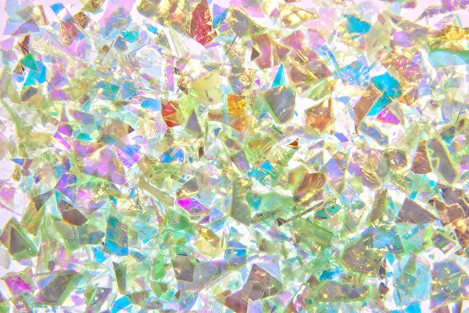 キラキラと色鮮やかな光の集合体