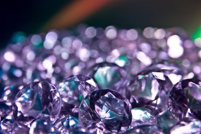 紫色のキラキラ素材