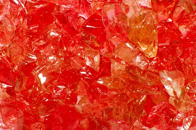 キラキラ ガラスの画像