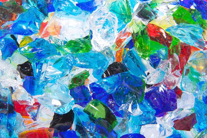 キラキラ ガラス