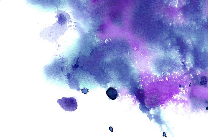 紫と紺の水彩テクスチャ
