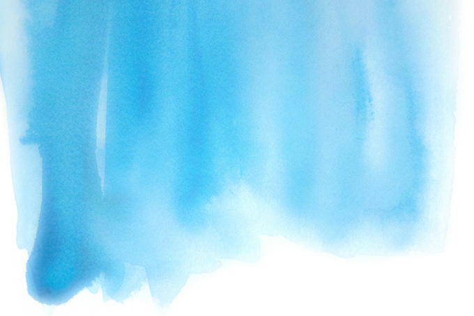 流れる水の様な水彩グラデーションの画像