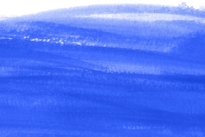 紺色の水彩バックグラウンド素材