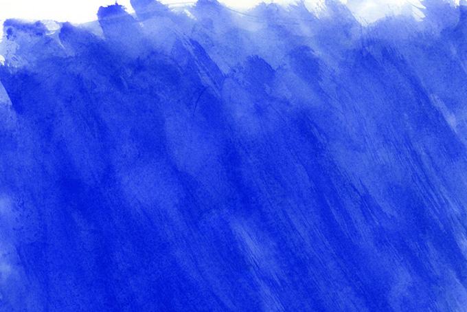 ネイビーの水彩タッチのテクスチャ背景