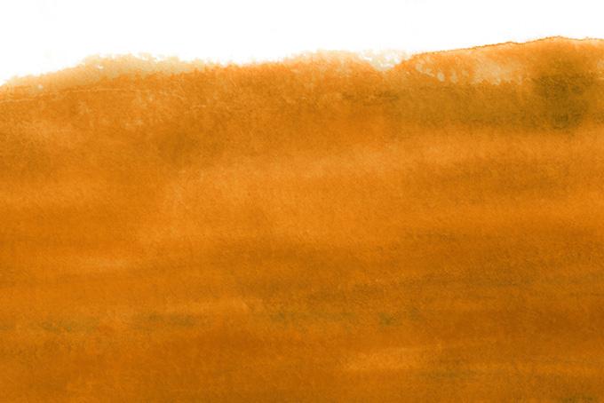 濁りのあるローシェンナと白の背景