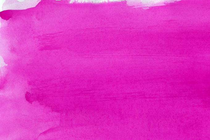 マゼンタの水彩絵具を塗った背景画像