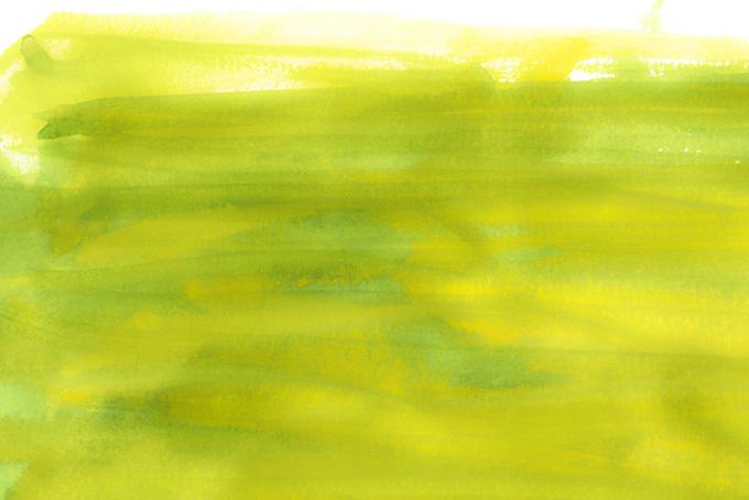 シャルトルーズイエローの水彩背景