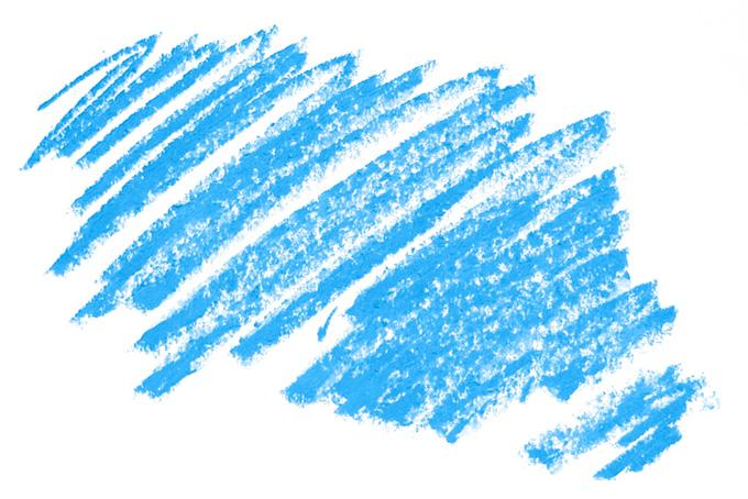 シンプルな空色のクレヨンのテクスチャ