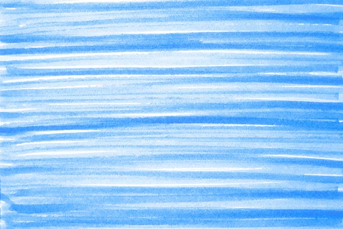 青い水性マーカーのシンプルなライン背景素材