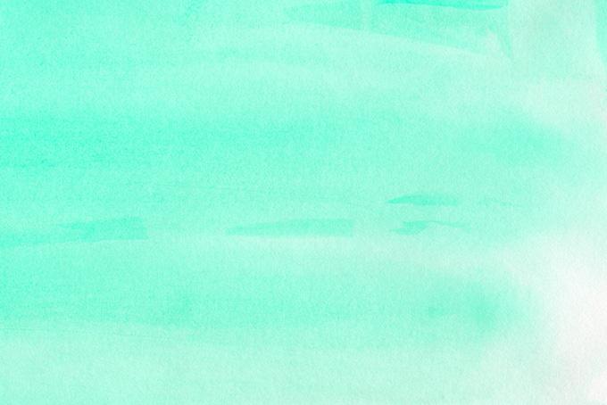 シーグリーンの水彩グラデーション画像