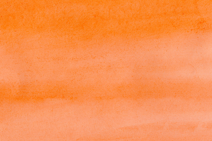 薄く塗ったキャロットオレンジ