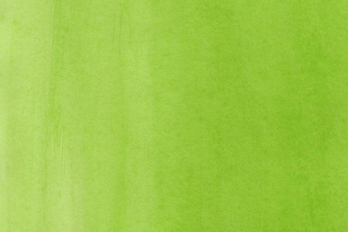 リーフグリーンの水彩薄塗り画像
