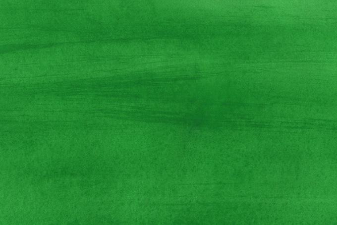 ビリヤードグリーンの水彩ペイントの背景画像