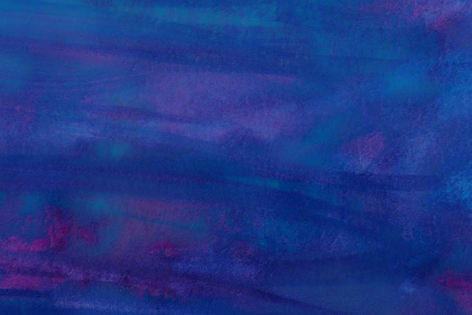 紺と青紫の水彩筆塗りテクスチャ(水彩 絵の具のフリー画像)