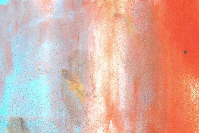 赤青白の水彩厚塗りテクスチャ