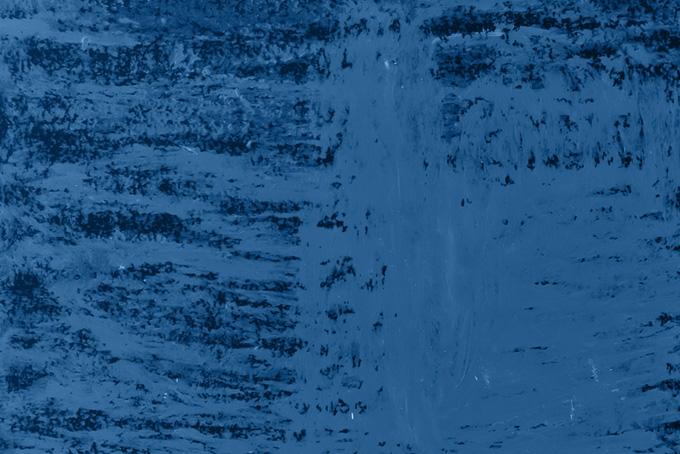 紺色のクレヨンペイント