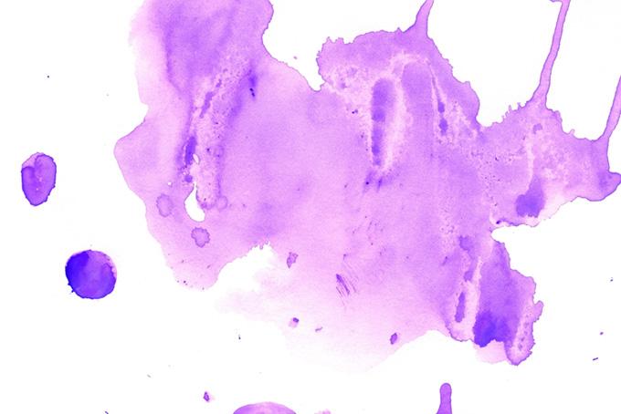 菫色のウオーターカラーテクスチャ画像