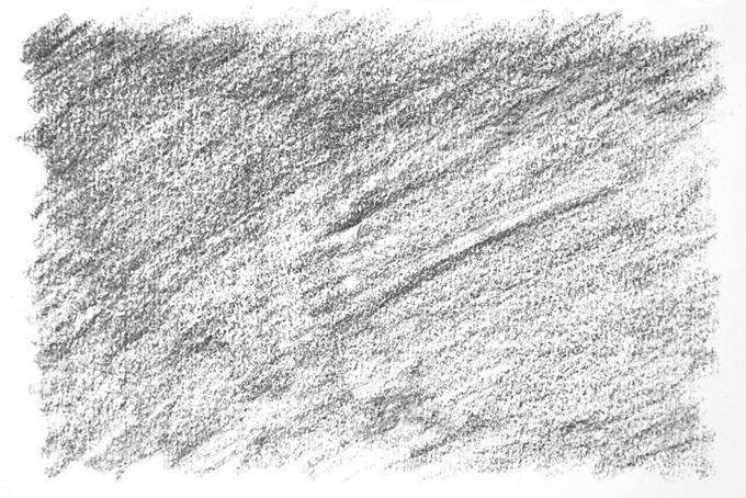 白い紙に鉛筆で塗った黒の背景画像(水彩 白黒のフリー画像)