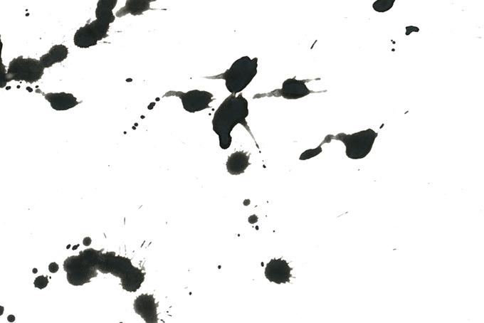 迸る墨汁のバックグラウンド素材(水彩 墨のフリー画像)