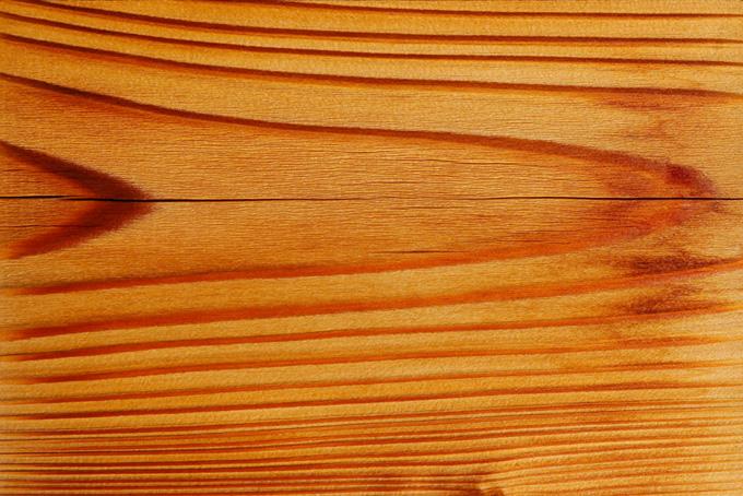 ひび割れた杉板の木目
