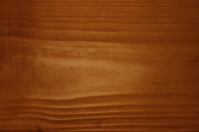 光沢のある滑らかな木の木目