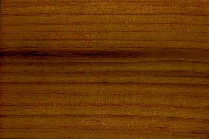 焦げ茶色の木の木目