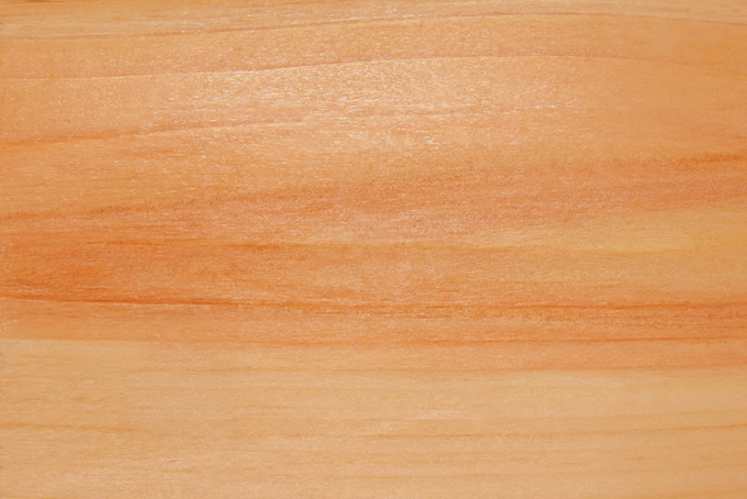 光沢のある美しい木肌