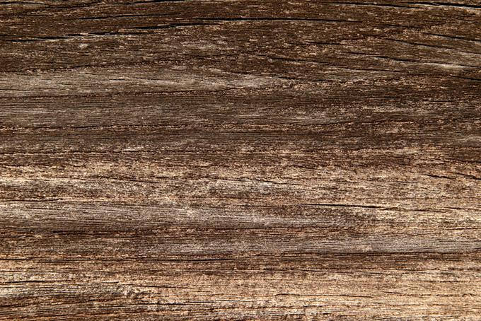 経年劣化した木の板