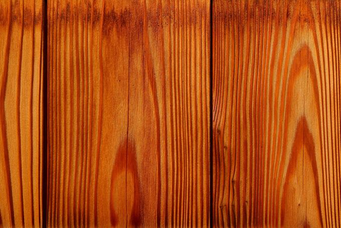 スギの木板のテクスチャー